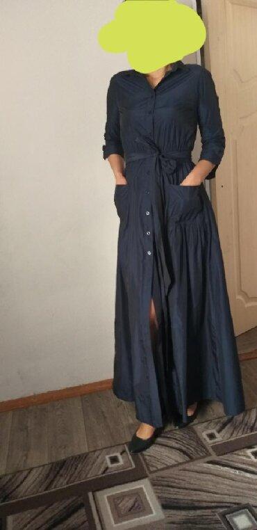 вечернее платье синий цвет в Кыргызстан: Продам платья производство Италия, покупала за 7500с прошу 2500с одела