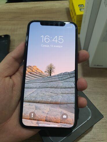 Хонор 9 х цена в бишкеке - Кыргызстан: Б/У iPhone X 64 ГБ Серый (Space Gray)