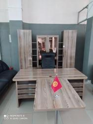 """мойка-со-шкафом в Кыргызстан: КабинетДля руководителя""""Рибейро"""". Шкафная секция и стол с приставным"""