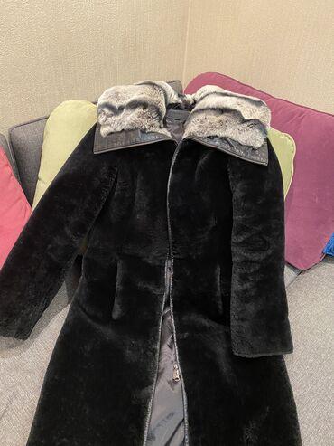 производство свитшотов в Кыргызстан: Продаю шубу с натуральным мехом. Б/у, одевала очень мало, длина ниже к