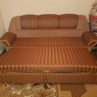 Диваны в Кыргызстан: Продаю мягкий мебель тройка . б/у состояние очень хорошее