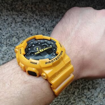 Casio G-shock ga100 Žuti