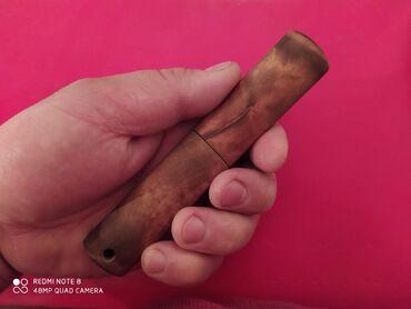 Искусство и коллекционирование - Беловодское: Якутский нож карманный метал ХА 12 МФ нож от мастера Дмитрий с климом