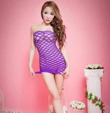 Фиолетовое эротическое платье в Бишкек