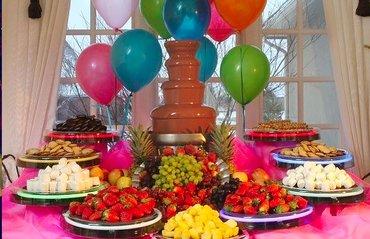 шоколадный фонтан в Кыргызстан: Шоколадный фонтан! закажите на свой праздник шоколадный фонтан и будет