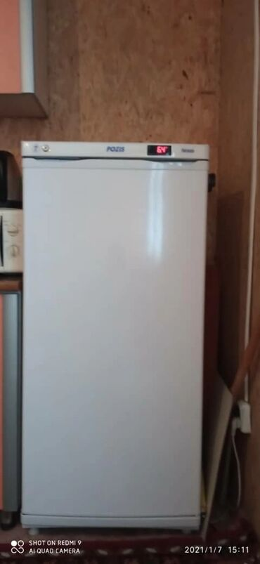 | Б/у Однокамерный | Белый холодильник Pozis