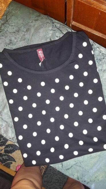 Zenske majice kratkih rukava za punije moze i za trudnice do 3xl cena