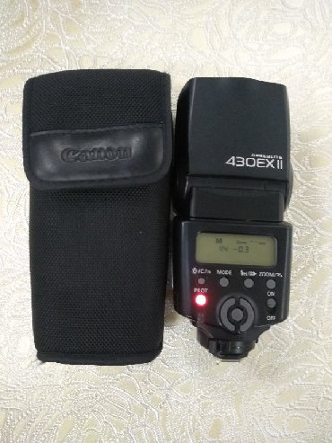 аккумулятор для фотоаппарата canon в Кыргызстан: Вспышка Canon SPEEDLITE 430EX|| 8400сом
