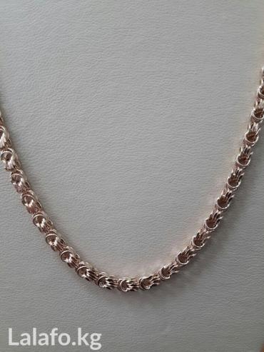 Красивая плотная цепь из золота 585 пробы.Длина 49см в Бишкек