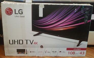 Satılır. Tecılı . LG smart TV 4k 480 AZN yeni kimidir heç bir