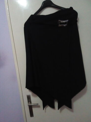 Nova crna asimetricna suknja