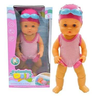 Lutka koja pliva 2599dinLutka je vodootporna, pomera nogama, pluta po