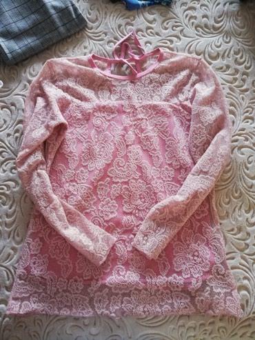 Cipka sta roze bluza samo oprana odgovara velicina m-l.. - Sjenica