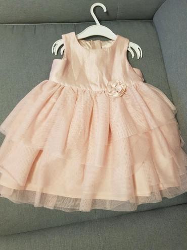 Etiketa-otkinutaduzinapoluobim-strukadubina-napredd - Srbija: Nova H&M haljina za devojcice samo skinuta etiketa. Velicina 92