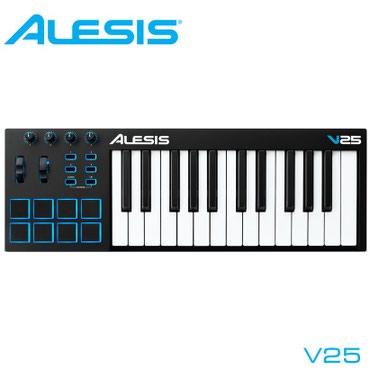 Миди клавиатура Alesis V25 – это мощный и интуитивно понятный