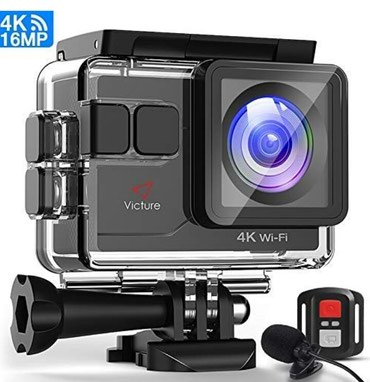 Камера Victure Action Cam 4K 16MP. в Бишкек