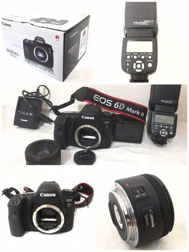 50mm - Azərbaycan: Canon 6D Mark2 Teze almisam cemi 70-80 foto cekilib, Camerasinada soz