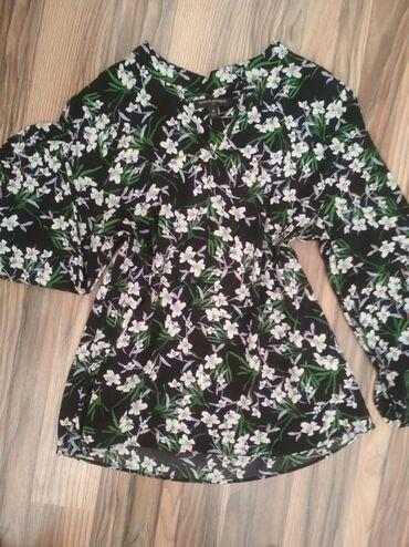Рубашки и блузы - Кок-Ой: Обменом 1000!Блузка кофта летняя новая, качество отл,~44-46р