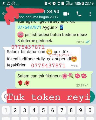 tuk token krem - Azərbaycan: Tuk token toz musteri reyiTuktokentoz lazere son1aya gec cixir ve