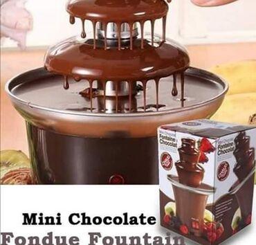 Čokoladna fontana sa 3 nivoa2500Nije lako nabrojati sva čudesna