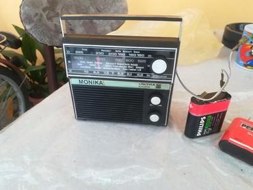Bermude n - Srbija: Mali rucni radio, SOVJETSKO IZDANJE iz Poljske ide na bateriju od 4,5V