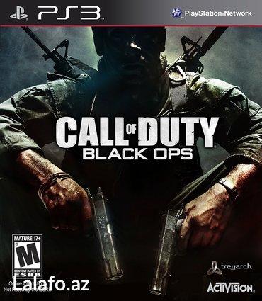 """Bakı şəhərində """"Call of Duty - Black Ops"""" PS3"""