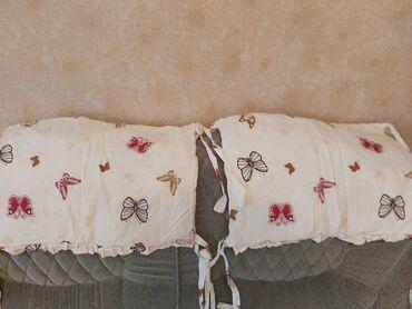 Детский мир - Новопокровка: Детские бортики на кроватку. Брали за 1500 сом, отдам за 300 сом