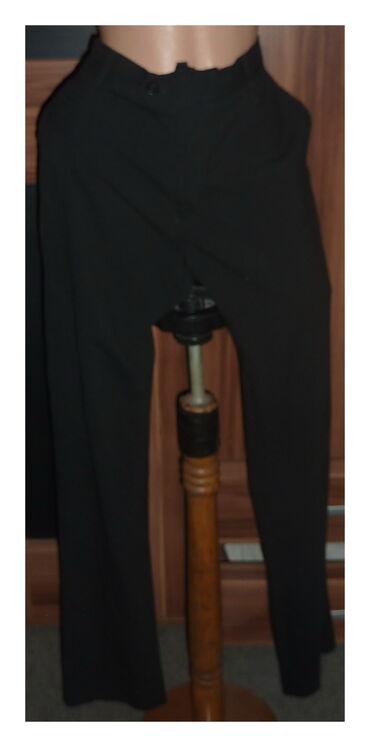 Elegantne pantalone - Srbija: CRNE ELEGANTNE PANTALONE VEL 42-44Vel ne pise procenite po meramastruk