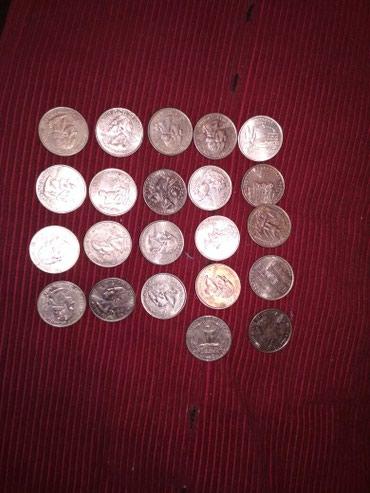 Американские монеты 25 ц в общем 22 шт. в Бишкек