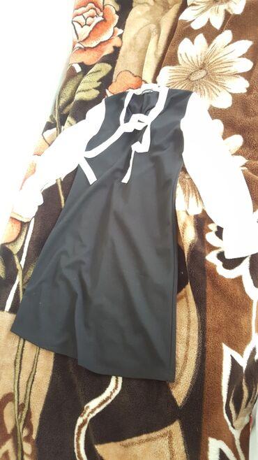 Школьный сарафан  Носила только один раз  шикарные и приятно для тела
