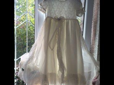 Шикарное детское платье. 5-8 лет  , идеально с балеро. в Чаек