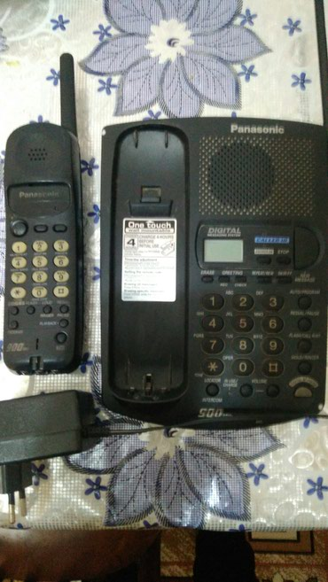 Bakı şəhərində Radio telefon panasonic. Zapcast kimi satılır