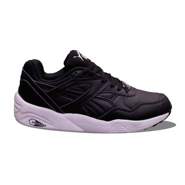 Puma trinomic black leather  These trinomic trainers in black in Kathmandu