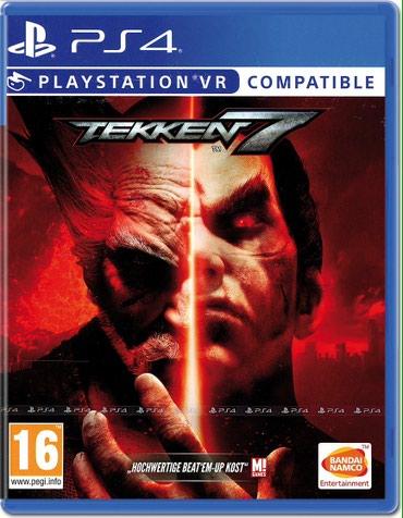 Bakı şəhərində Ps4 ucun Tekken 7 VR oyunu tam bagli upokovkada orginal catdirilma