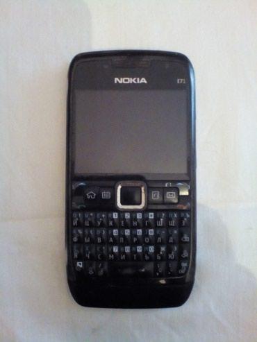 Bakı şəhərində Nokia E71-1 telefonu.ZAPCAST kimi satilir.Batarerasi yoxdur. Ishleyen