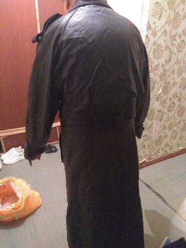 мужской плащ в Кыргызстан: Тёплый коженный плащ мужской чисто кожа 2000