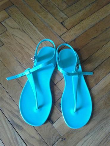2-3puta obuvene.japanke -sandale za plazu.gotovo nove.udobne - Valjevo