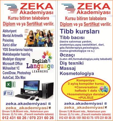 Bakı şəhərində zəka akademiyası tədris mərkəzi