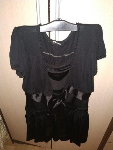 Декольте блузка с фигаро. в Bakı