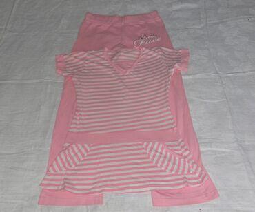детская одежда бишкек в Кыргызстан: Туника со штанами пижама б/у домашняя одежда размер стандарт хлопок