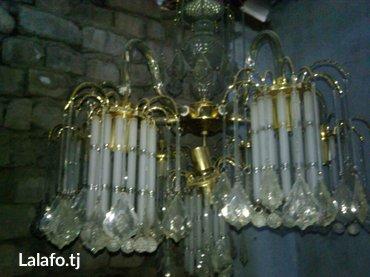 Продаю 2-люстры 7-ми потронные б/у каждая по 30 сомон в Душанбе