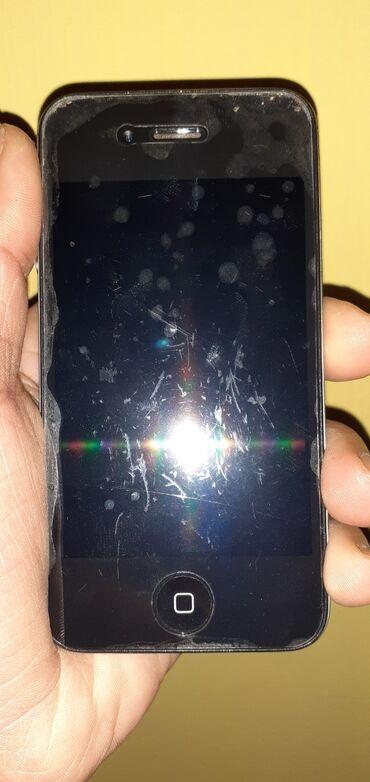 зарядка iphone 4s в Азербайджан: Б/У iPhone 4S 8 ГБ Черный