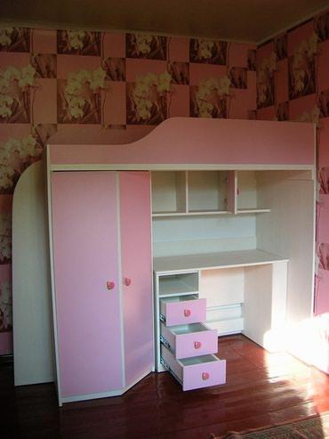 Кровать+стол+шкаф Мебель на заказ, в Бишкек