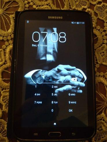 Bakı şəhərində Samsung Galaxy tab 3 hec bir problemi yoxdu tek ozudu real aliciya