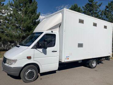 Рефрижератор бу купить - Кыргызстан: Продаю Мерседес Спринтер 412 тди tdi будка гидролопата длина будки 4'5