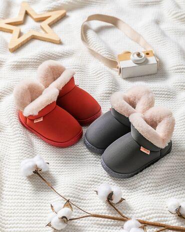 Осенне-зимние детские обуви для мальчиков и девочекутеплённый бархат