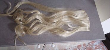 1374 oglasa: Plava prirodna kosa na klipse jednom nosena 7000din