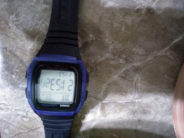 Наручные часы - Кызыл-Суу: Синие Наручные часы Casio