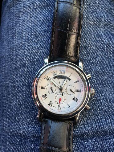 chasov fossil jr1401 в Кыргызстан: Серебристые Мужские Наручные часы Fossil