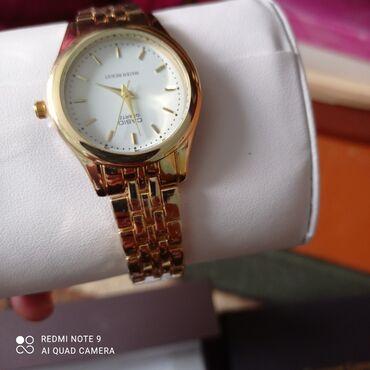Золотистые Женские Наручные часы Quantum